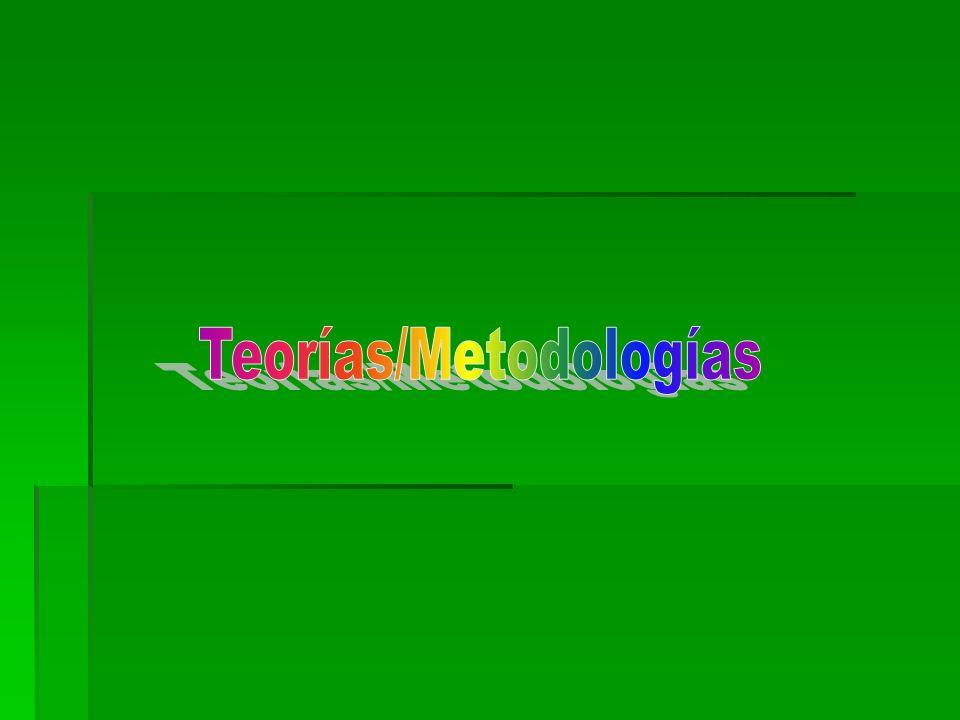 Teorías/Metodologías