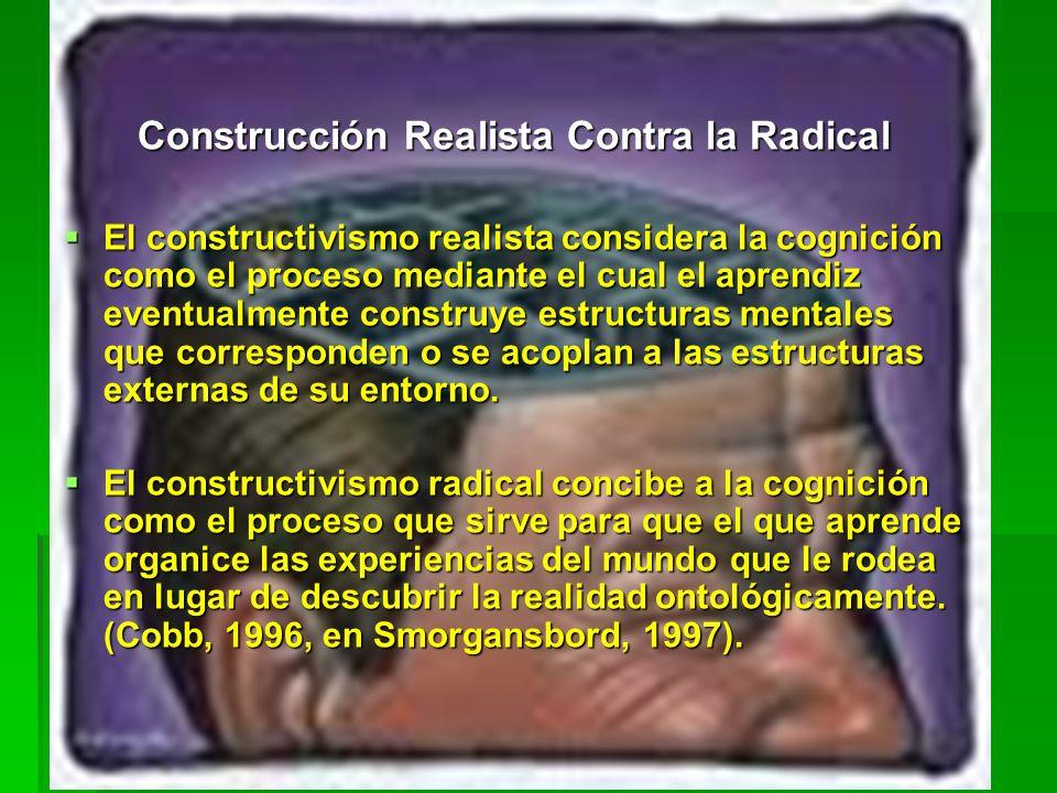 Construcción Realista Contra la Radical
