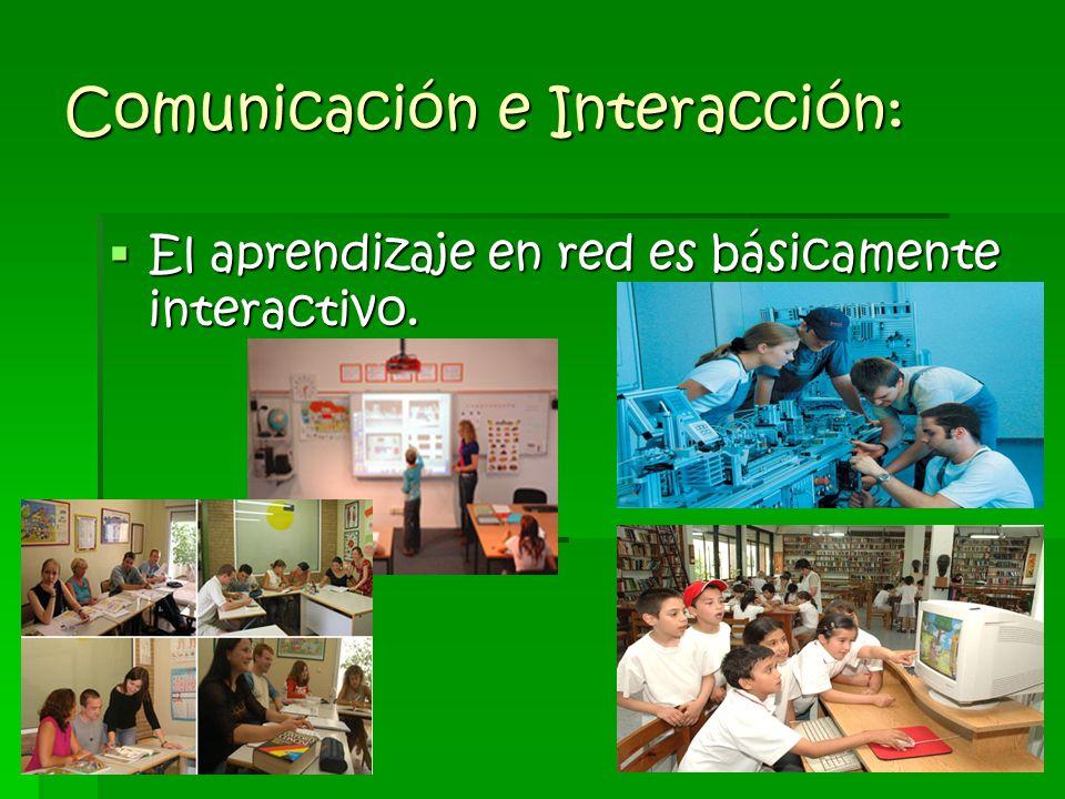 Comunicación e Interacción: