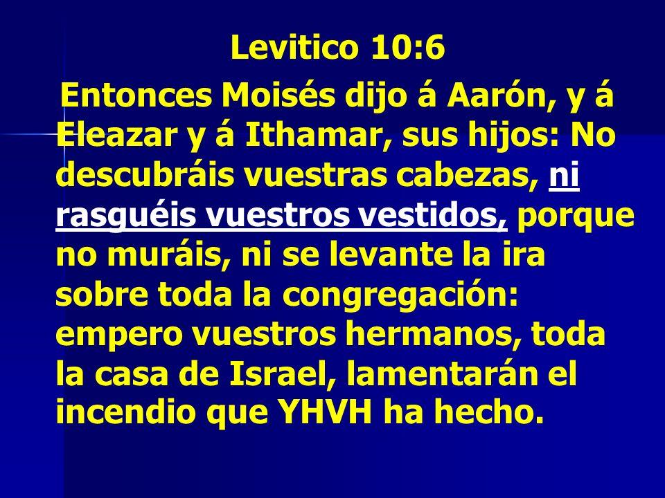 Levitico 10:6