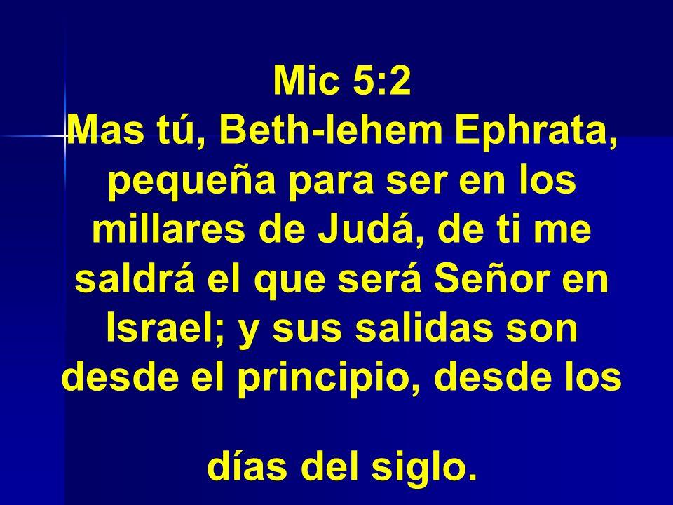 Mic 5:2