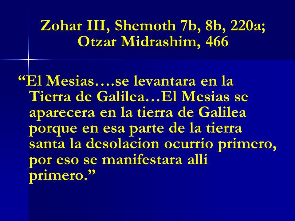 Zohar III, Shemoth 7b, 8b, 220a; Otzar Midrashim, 466