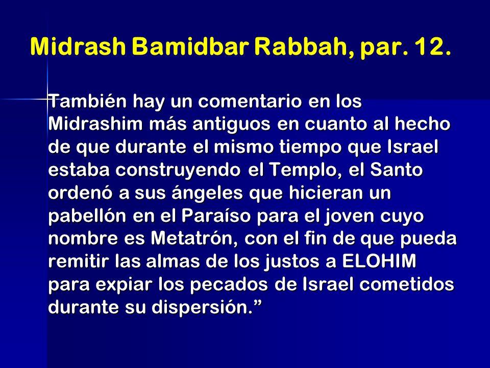 Midrash Bamidbar Rabbah, par. 12.