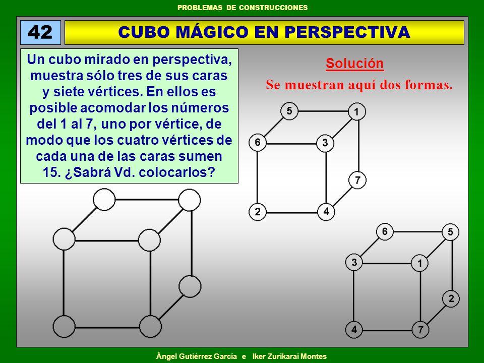 CUBO MÁGICO EN PERSPECTIVA