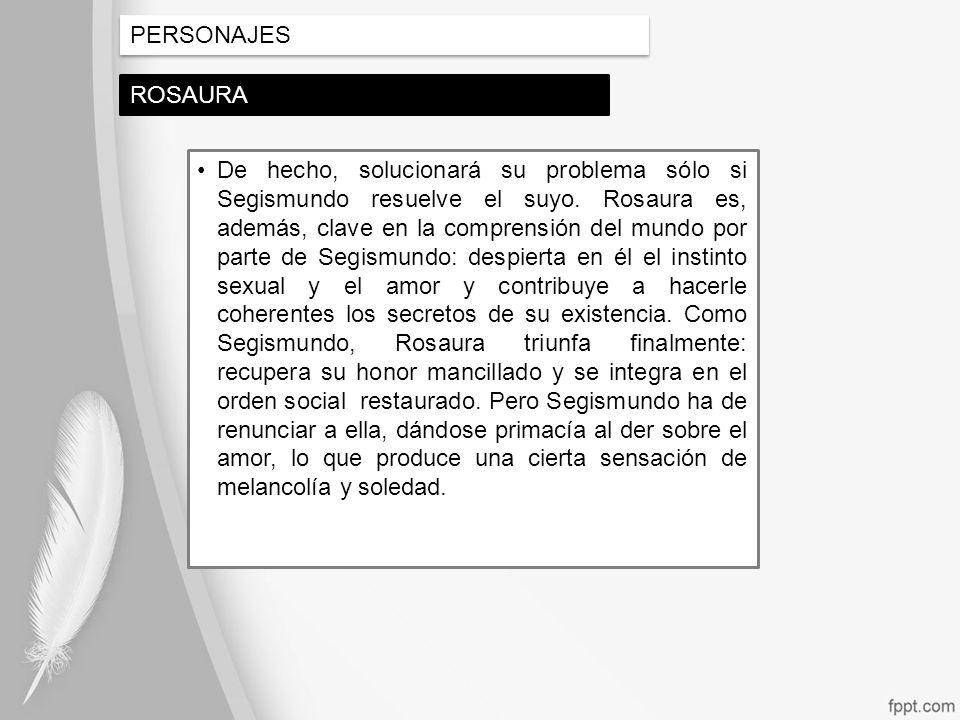 PERSONAJES ROSAURA.