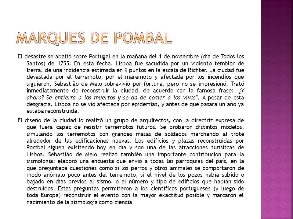 Marques De Pombal