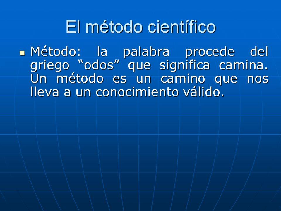 El método científico