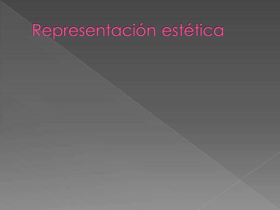 Representación estética