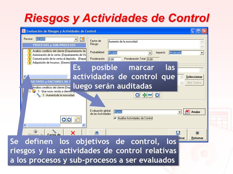 Riesgos y Actividades de Control