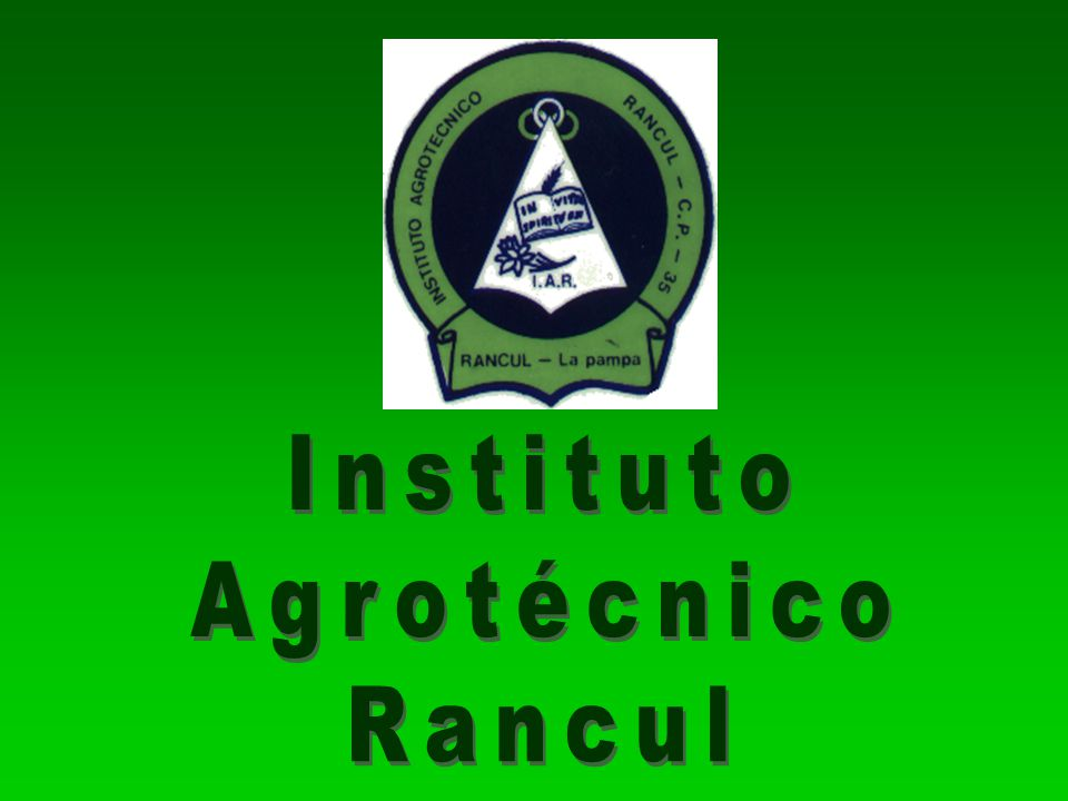 Instituto Agrotécnico Rancul