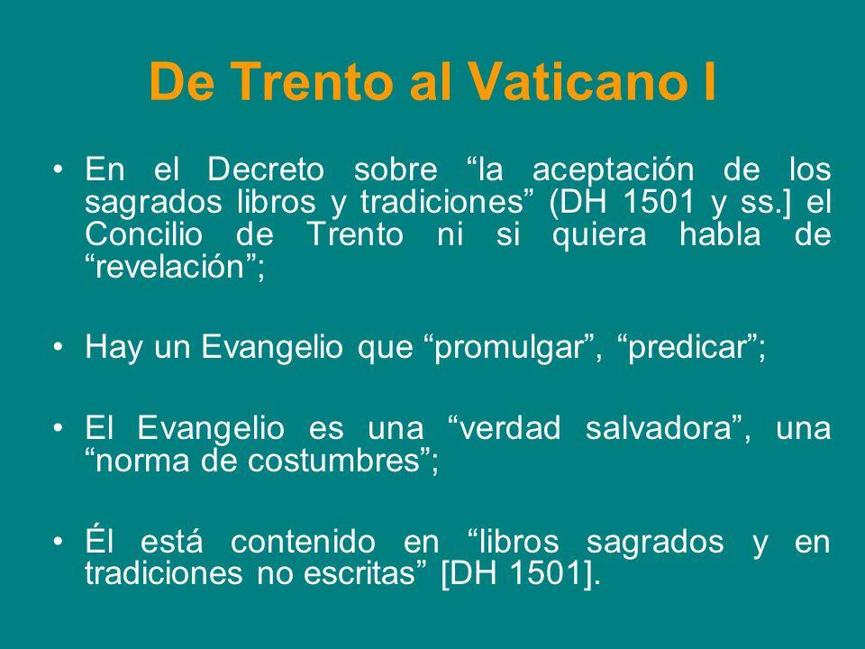 De Trento al Vaticano I
