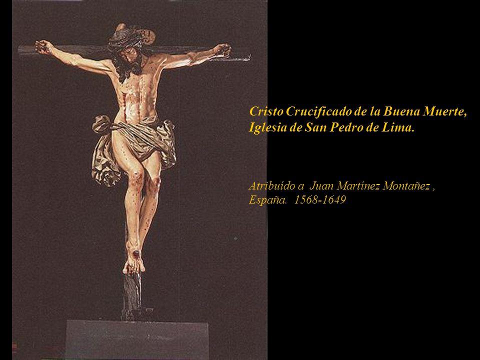 Cristo Crucificado de la Buena Muerte, Iglesia de San Pedro de Lima.