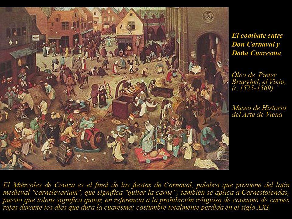 El combate entre Don Carnaval y Doña Cuaresma