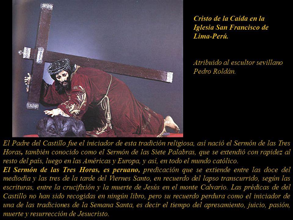 Cristo de la Caída en la Iglesia San Francisco de Lima-Perú.