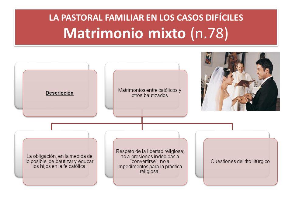Matrimonio Mixto Catolico Musulman : La pastoral familiar en los casos difÍciles ppt descargar