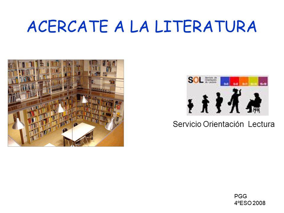 ACERCATE A LA LITERATURA
