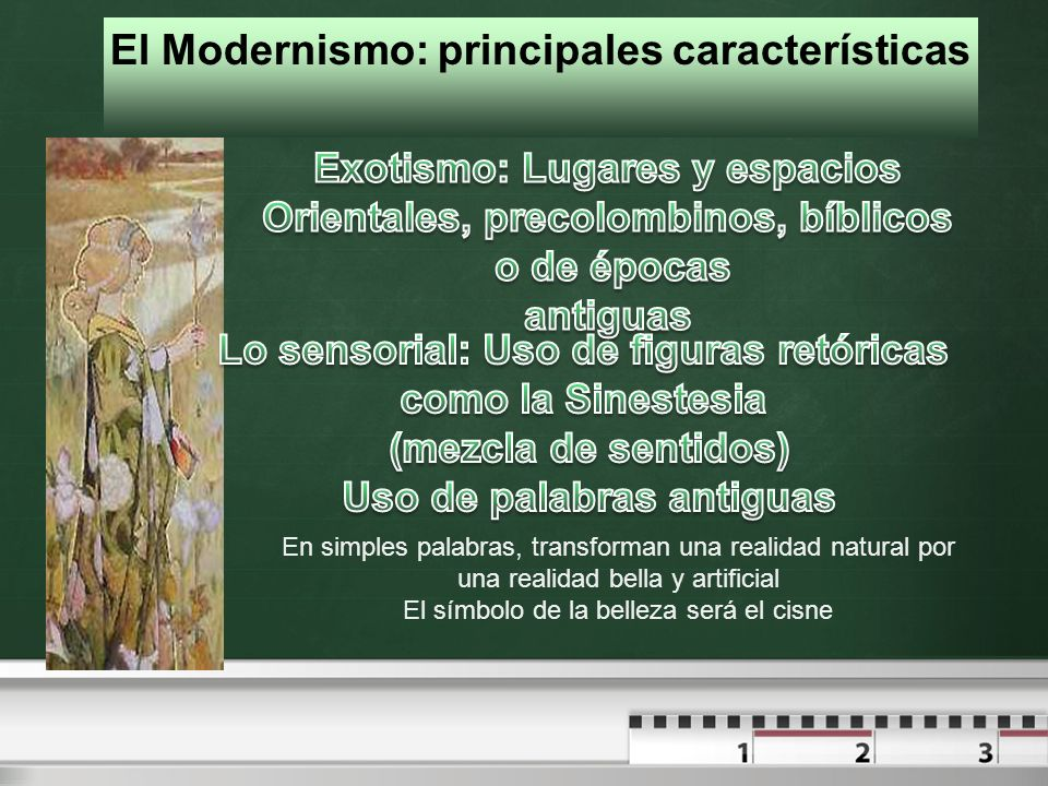 El Modernismo: principales características