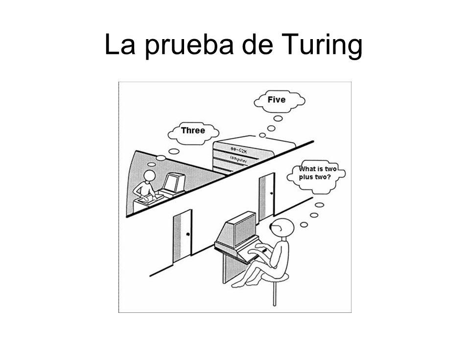 La prueba de Turing