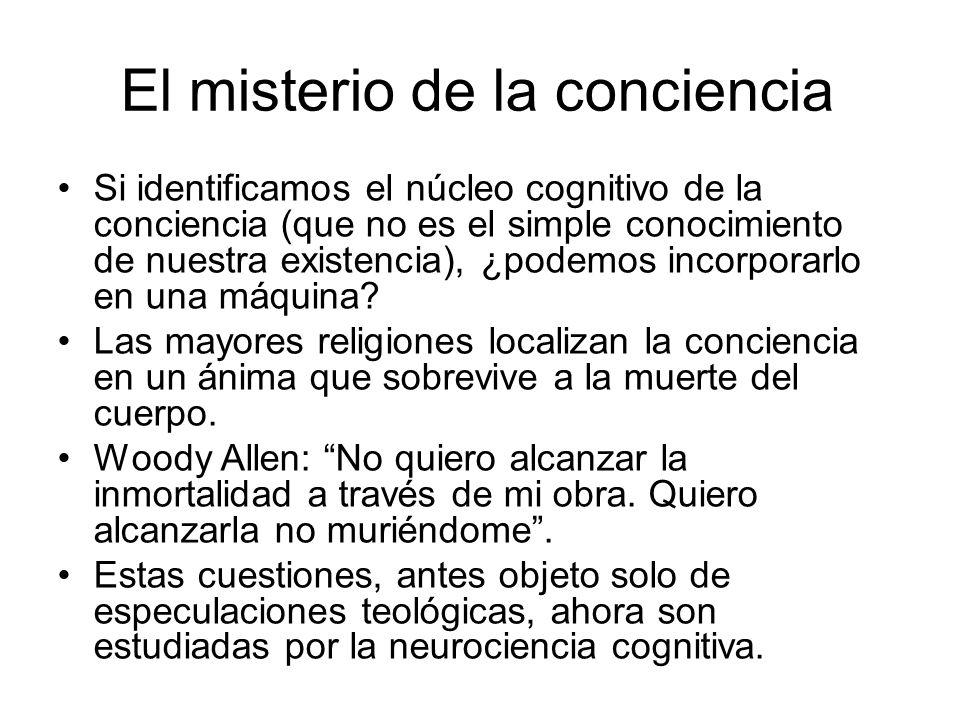 El misterio de la conciencia