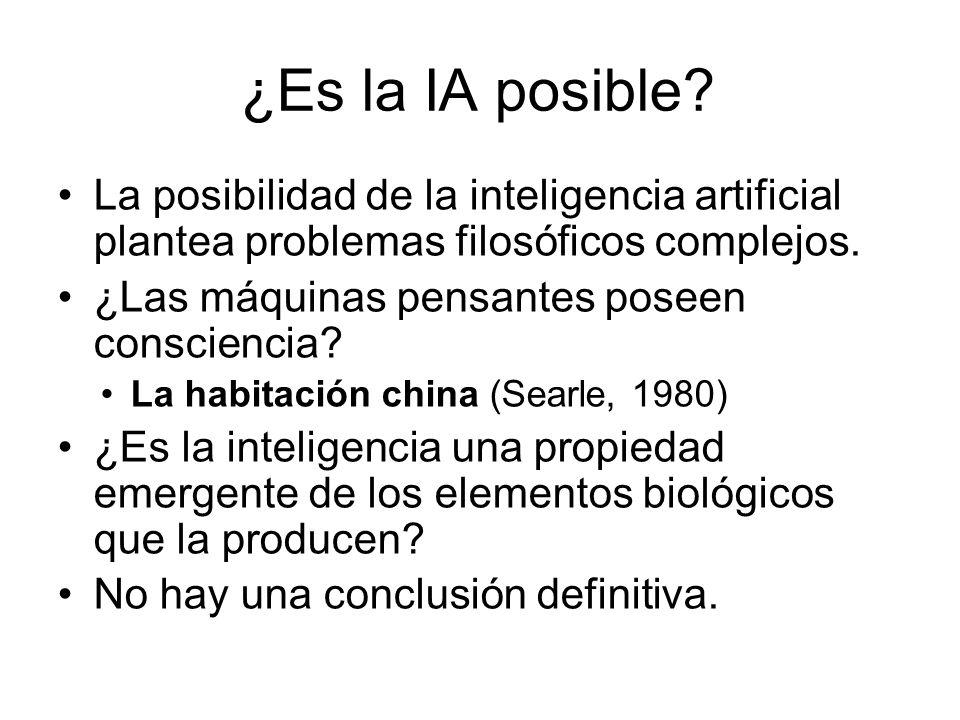 ¿Es la IA posible La posibilidad de la inteligencia artificial plantea problemas filosóficos complejos.