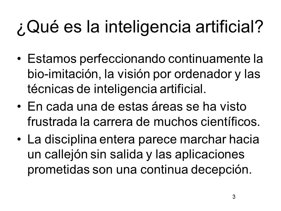 ¿Qué es la inteligencia artificial