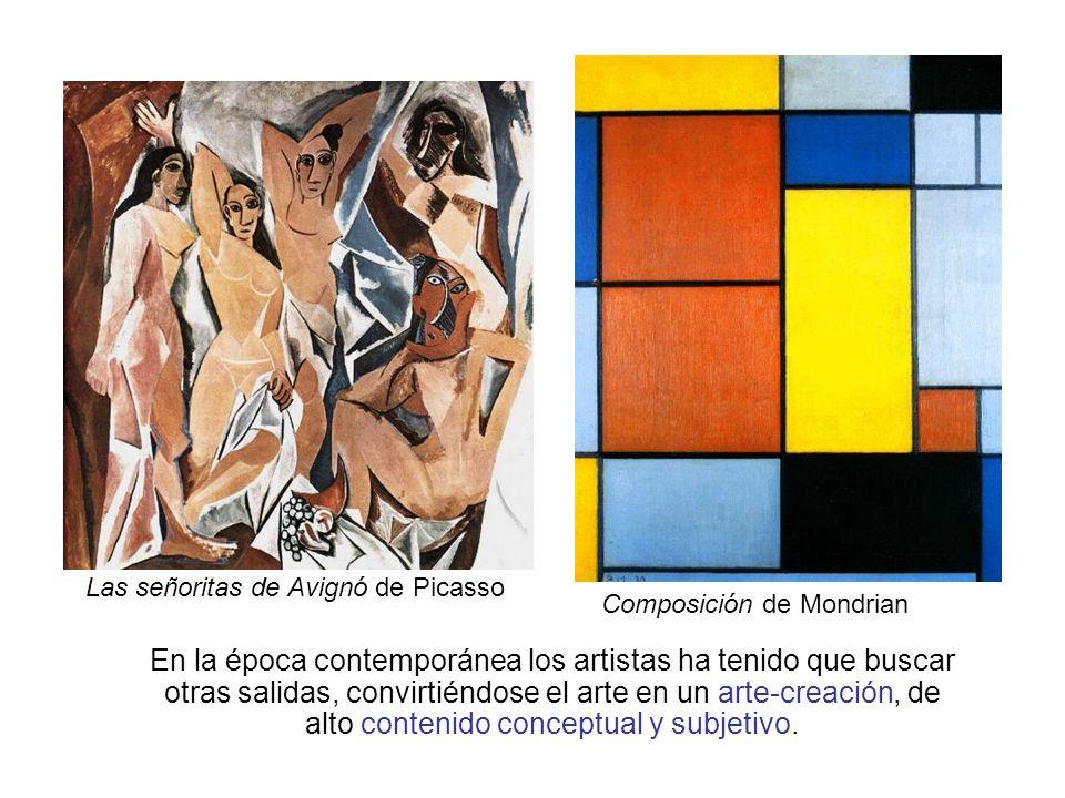 Las señoritas de Avignó de Picasso