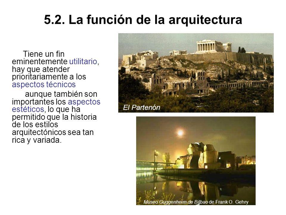 5.2. La función de la arquitectura