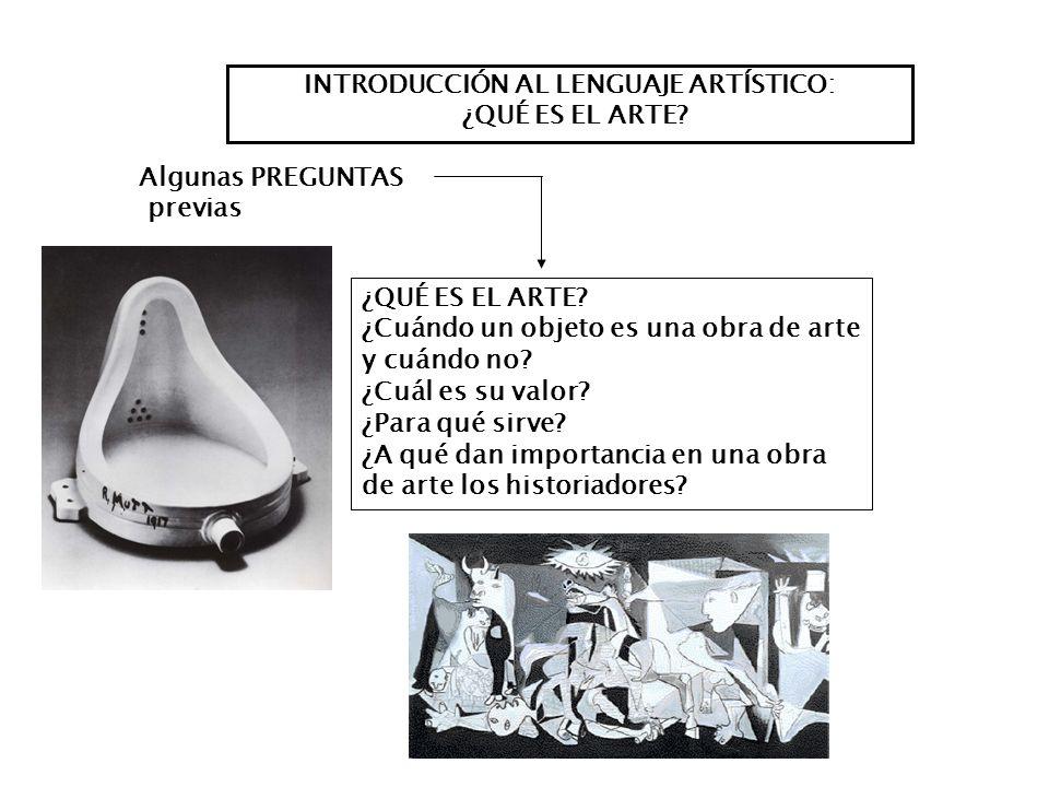 INTRODUCCIÓN AL LENGUAJE ARTÍSTICO: