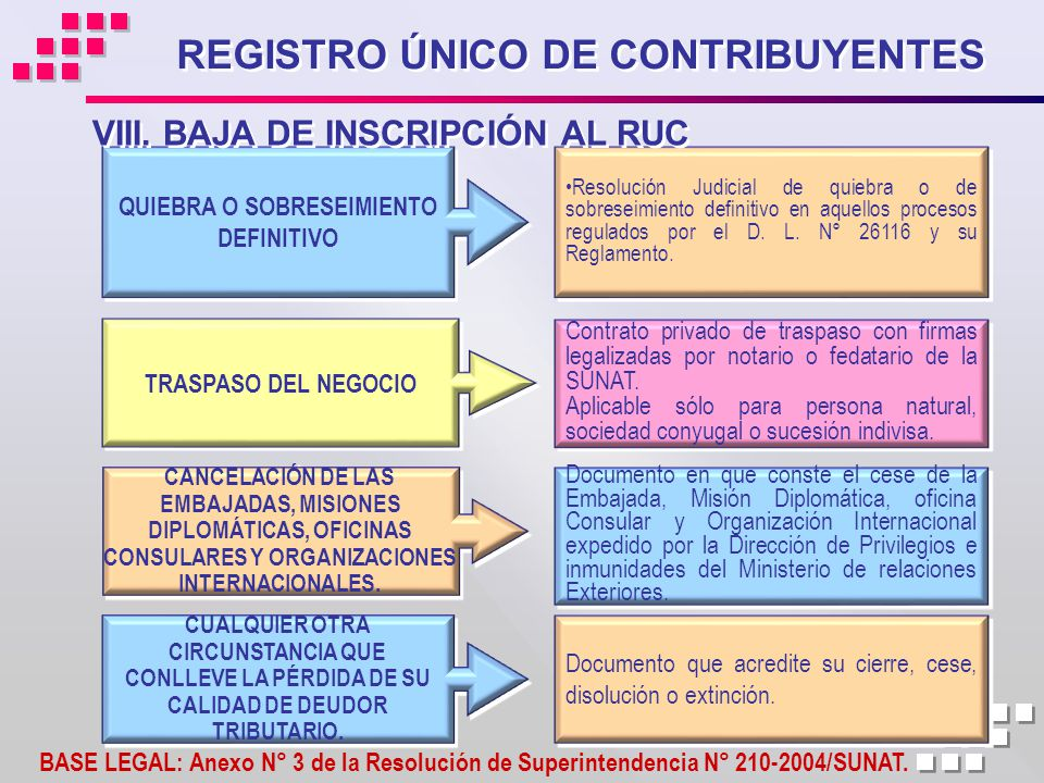 Registro Nico De Contribuyentes Ppt Descargar