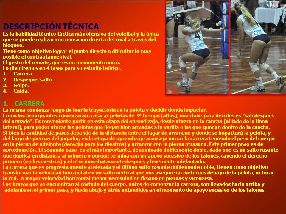 DESCRIPCIÓN TÉCNICA 1. CARRERA