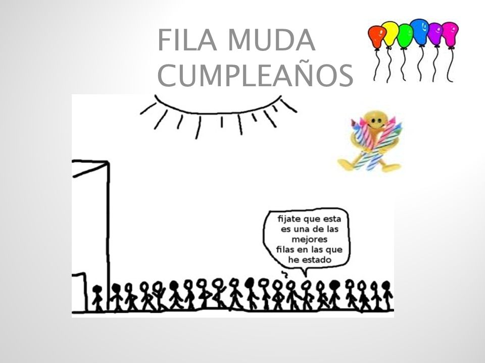FILA MUDA CUMPLEAÑOS
