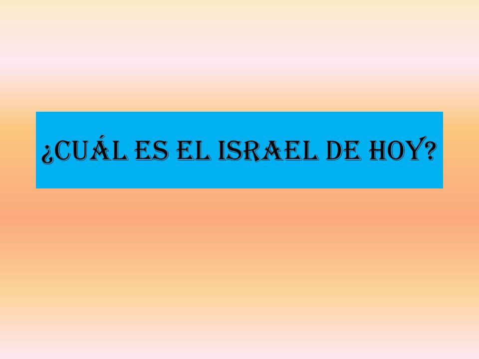 ¿Cuál es el Israel de Hoy