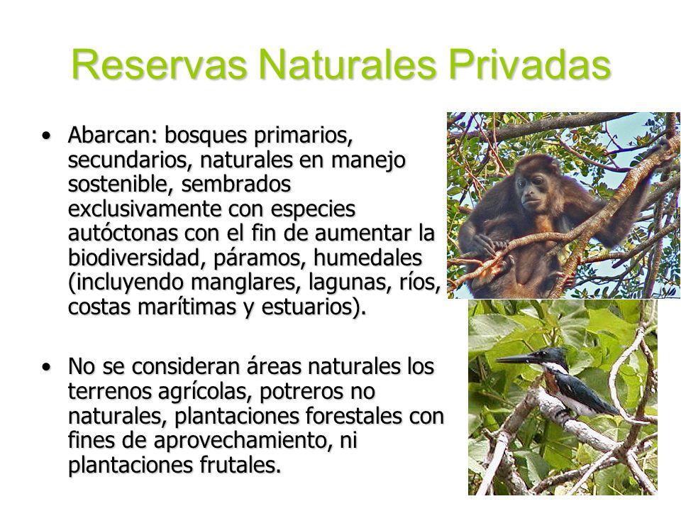 Reservas Naturales Privadas
