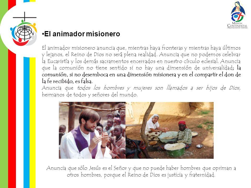 El animador misionero