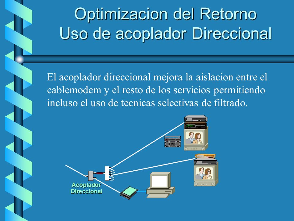 Optimizacion del Retorno Uso de acoplador Direccional