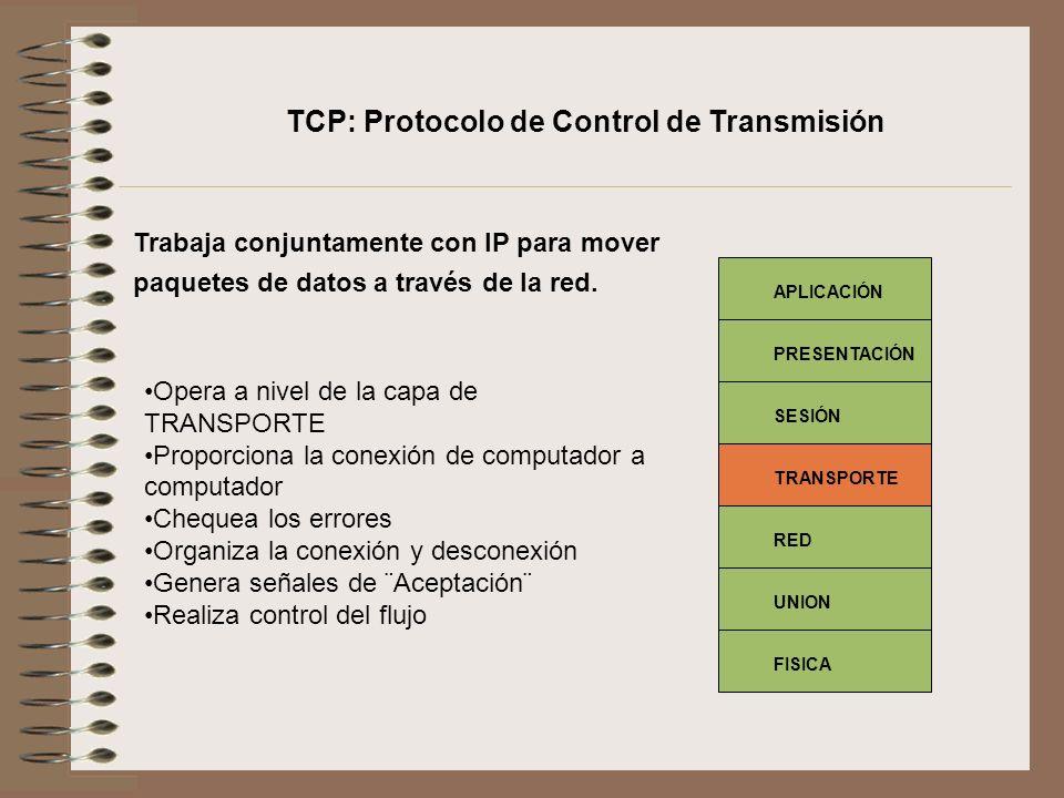 TCP: Protocolo de Control de Transmisión