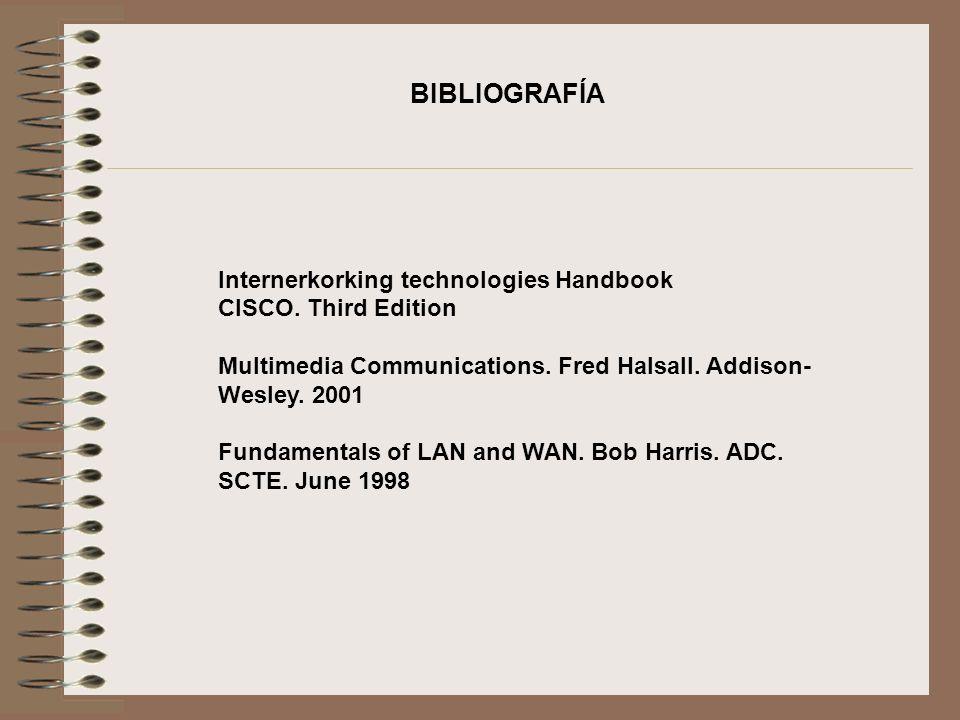 BIBLIOGRAFÍA Internerkorking technologies Handbook