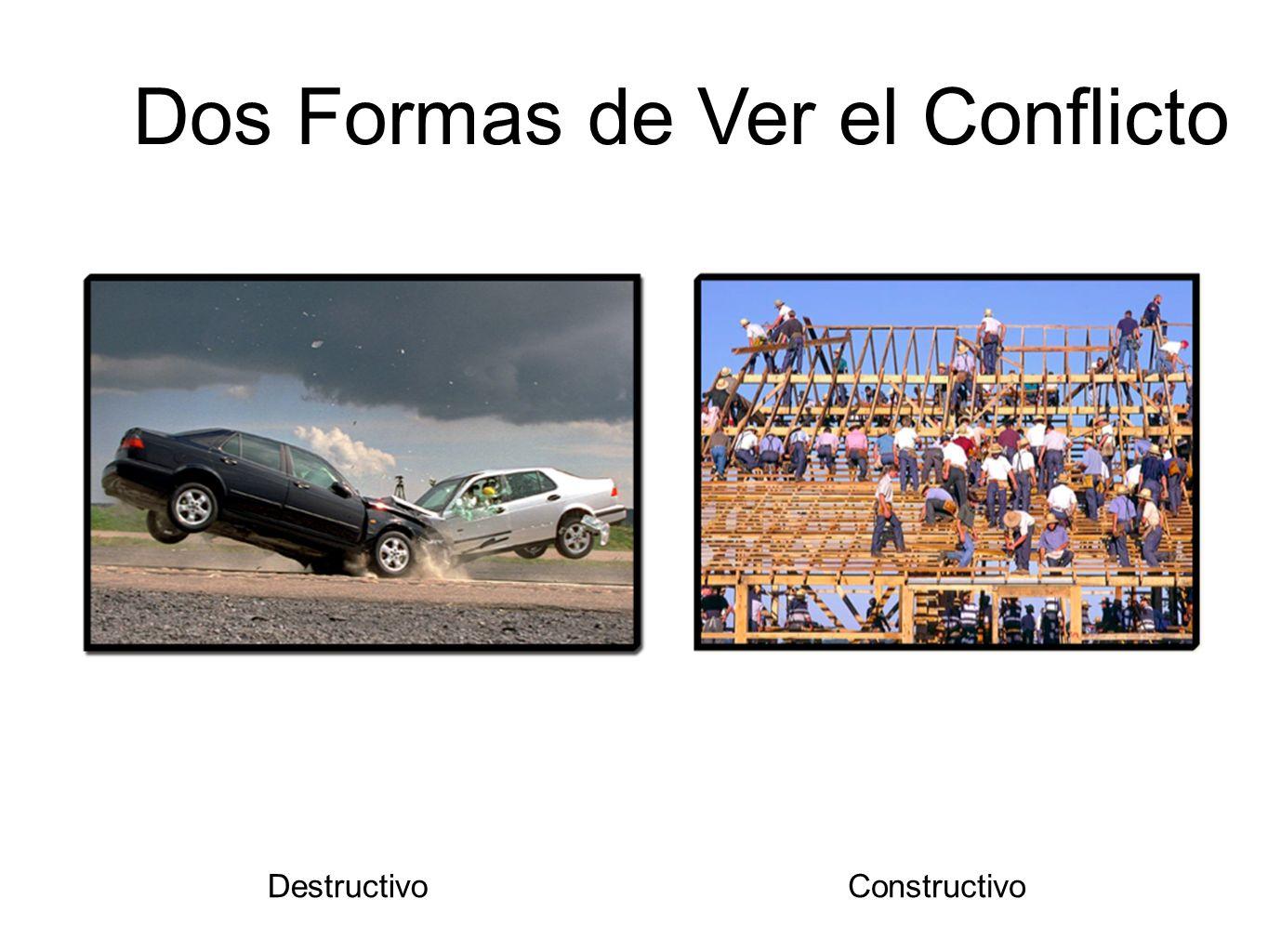 Dos Formas de Ver el Conflicto