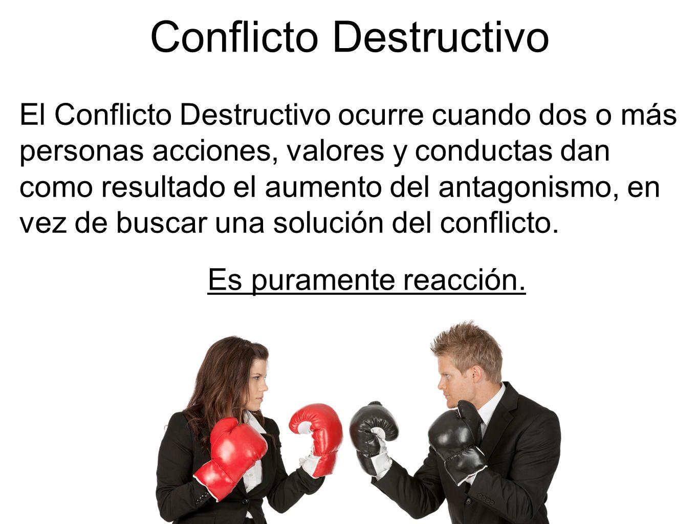 Conflicto Destructivo