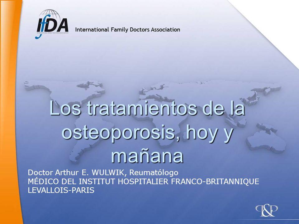 Los tratamientos de la osteoporosis, hoy y mañana