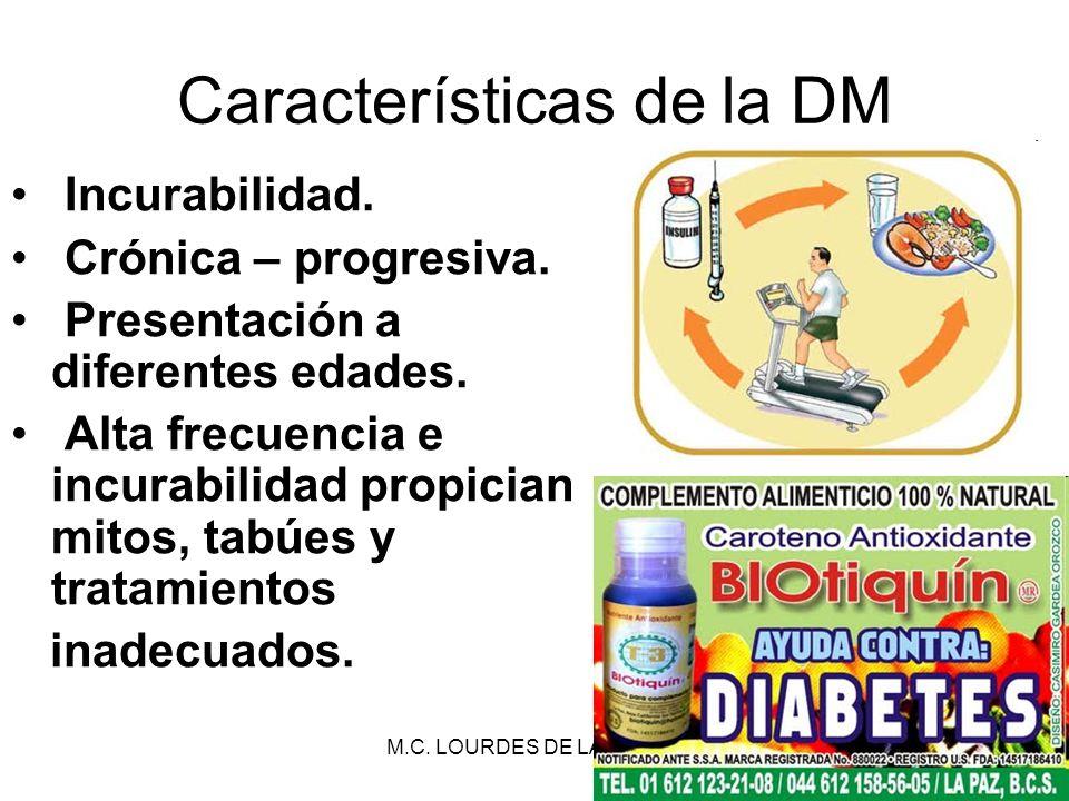 Características de la DM