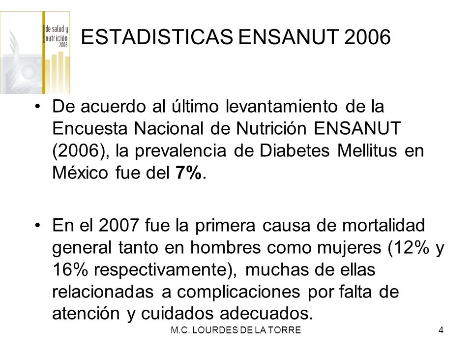 ESTADISTICAS ENSANUT 2006