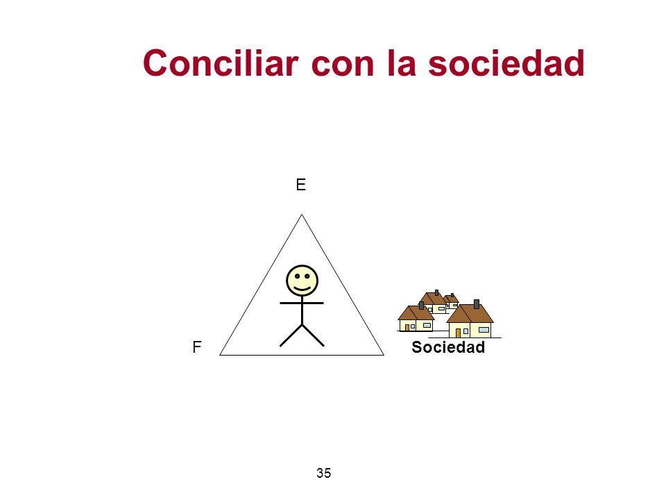 Conciliar con la sociedad