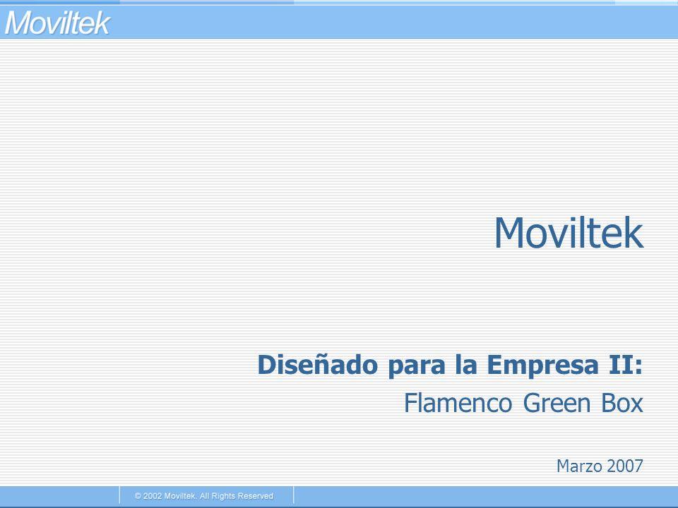 Moviltek Diseñado para la Empresa II: Flamenco Green Box Marzo 2007