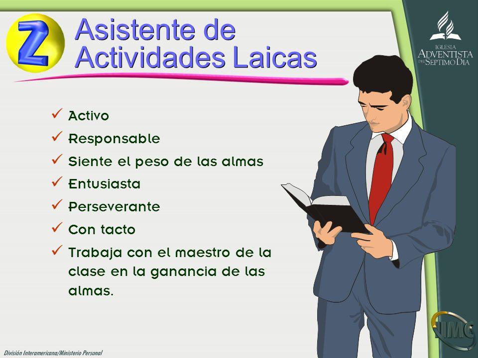 Asistente de Actividades Laicas