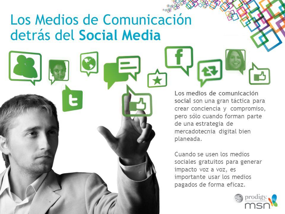 Los Medios de Comunicación detrás del Social Media