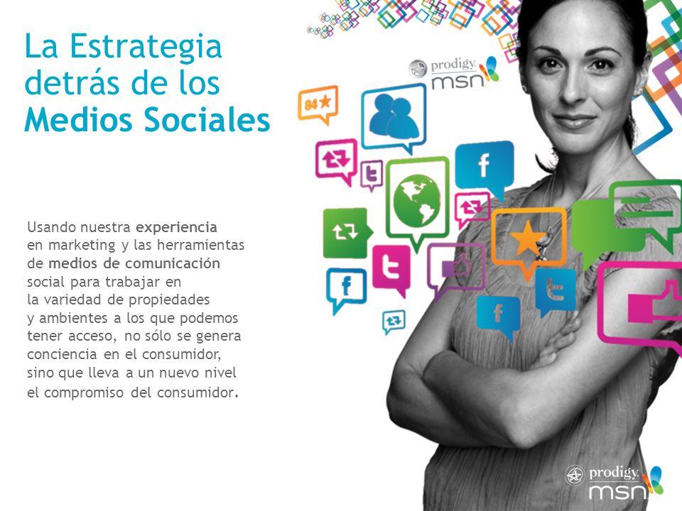 La Estrategia detrás de los Medios Sociales Usando nuestra experiencia