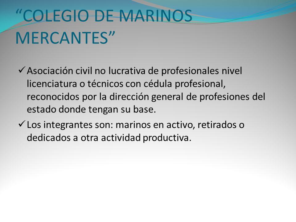 COLEGIO DE MARINOS MERCANTES