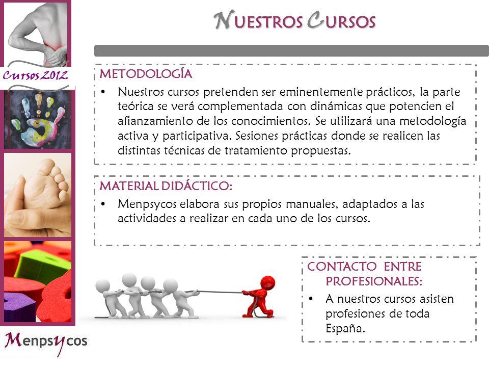 NUESTROS CURSOS METODOLOGÍA