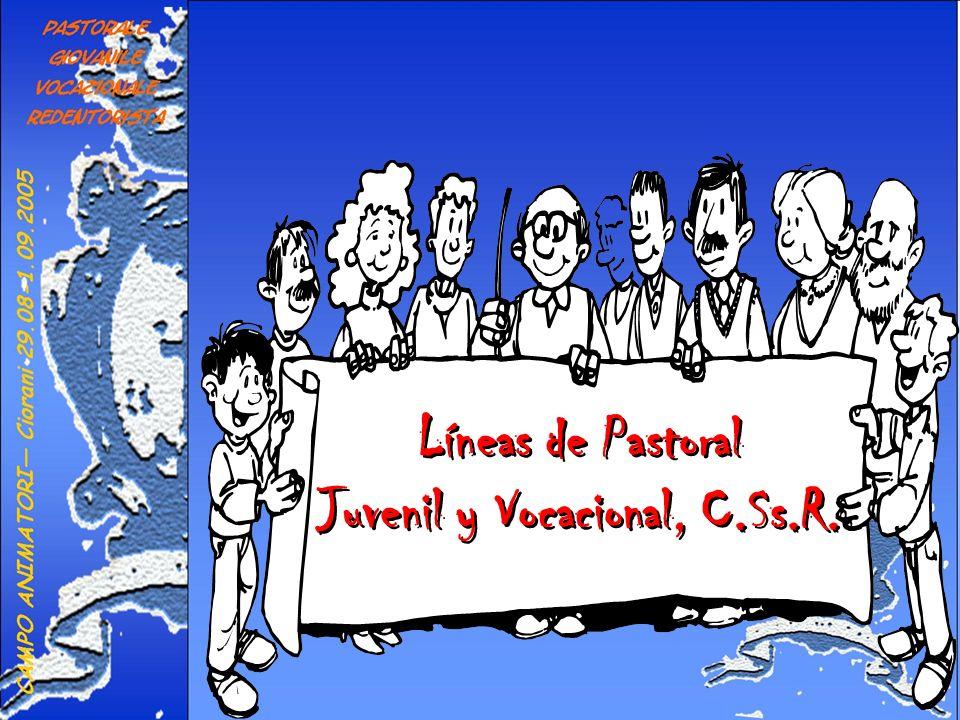 Juvenil y Vocacional, C.Ss.R.